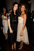Glamour Reel Moments Directors Jessica Biel and Eva Mendes attend the 5th Anniversary of Glamour Reel Moments Presented by Hyundai at Chateau Marmont...