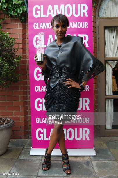 Glamour Woman of the Year Lindiwe Suttle arrive at The Grace Hotel in Rosebank South Africa on 19 March 2010