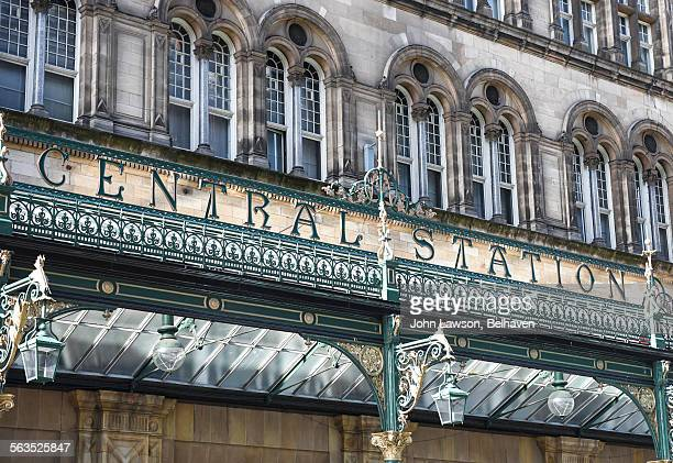 Glasgow Central Station main entrance