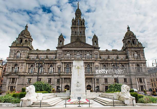 Glasgow city Chambers in George Square, Glasgow