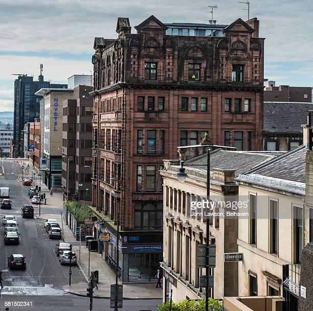 Glasgow citycape, Scott street