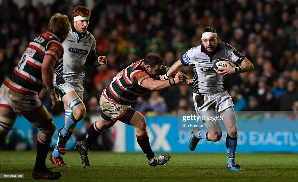 Leicester Tigers v Glasgow Warriors - European Rugby Champions Cup