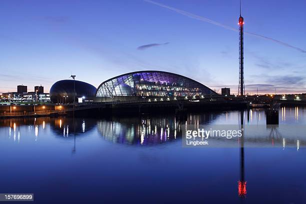 Glasgow Science Center along river Clyde