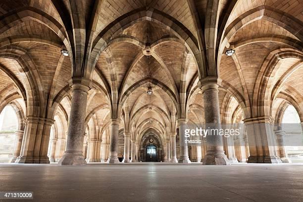 Glasgow University Cloisters