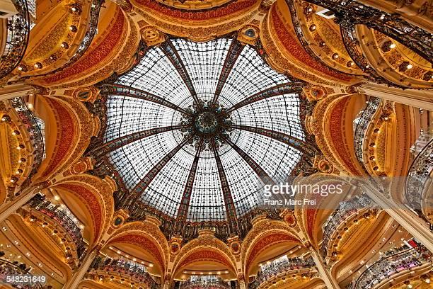 Glaskuppel der Galeries Lafayette