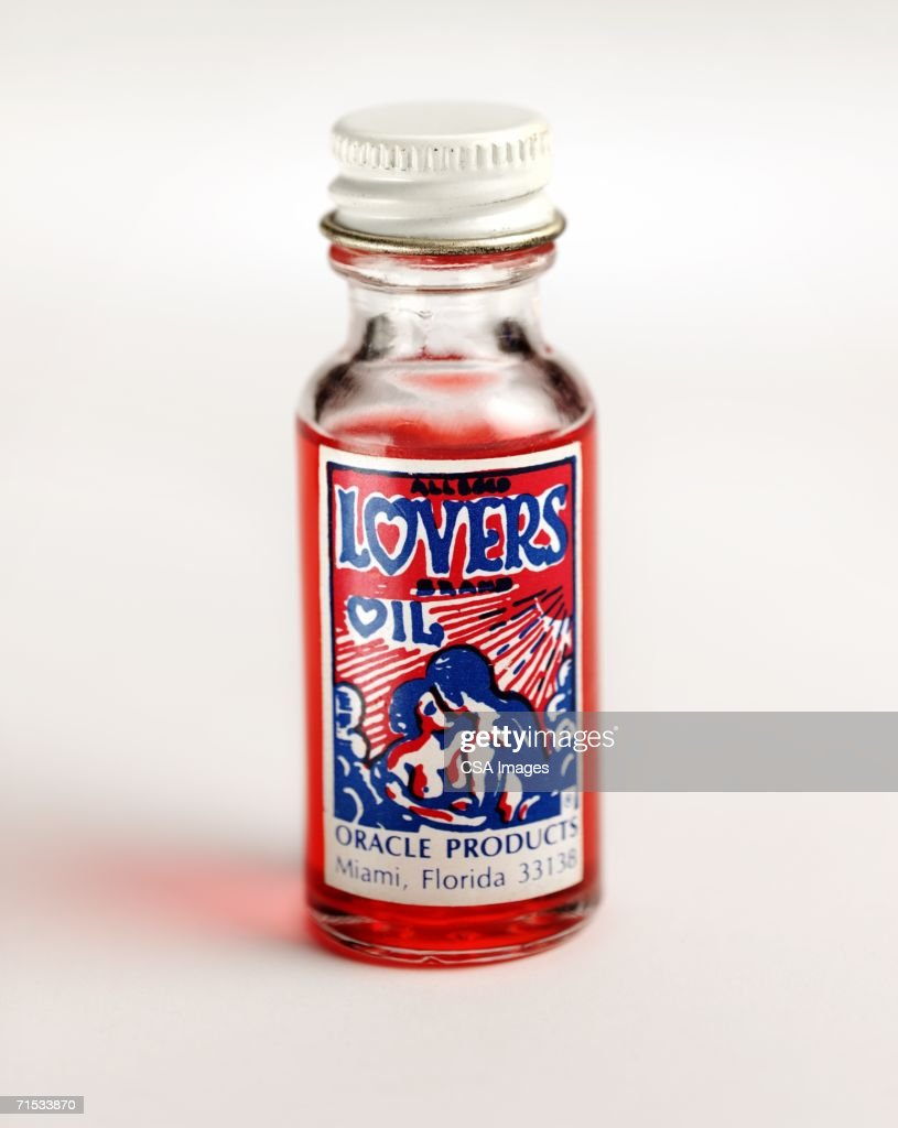Glass Bottle of Lovers Oil