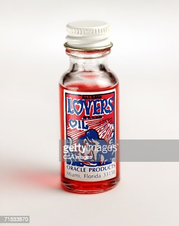 Glass Bottle of Lovers Oil