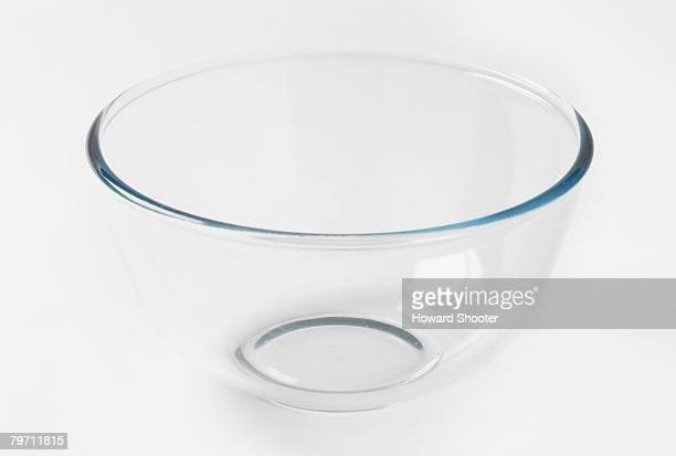 Glass bowl, studio shot