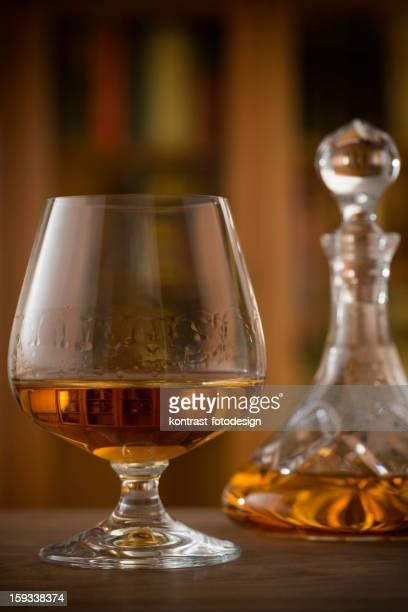 Verre de Brandy, Cognac, Snifter, le Decanter