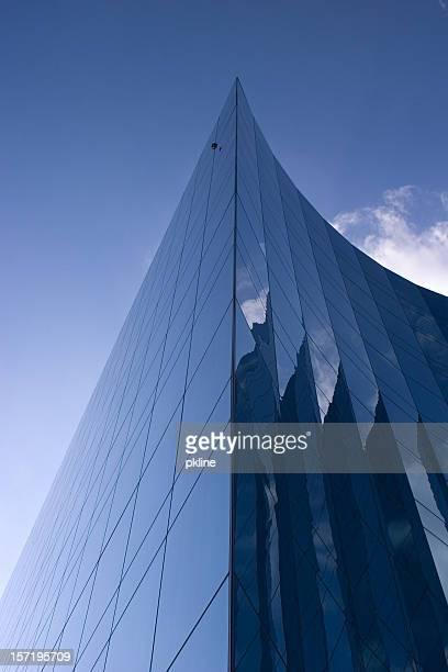 Glas-Gebäude Reflektionen