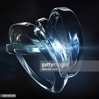 Glass Ceramics Blue