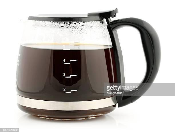 Glas Kaffee-Karaffe