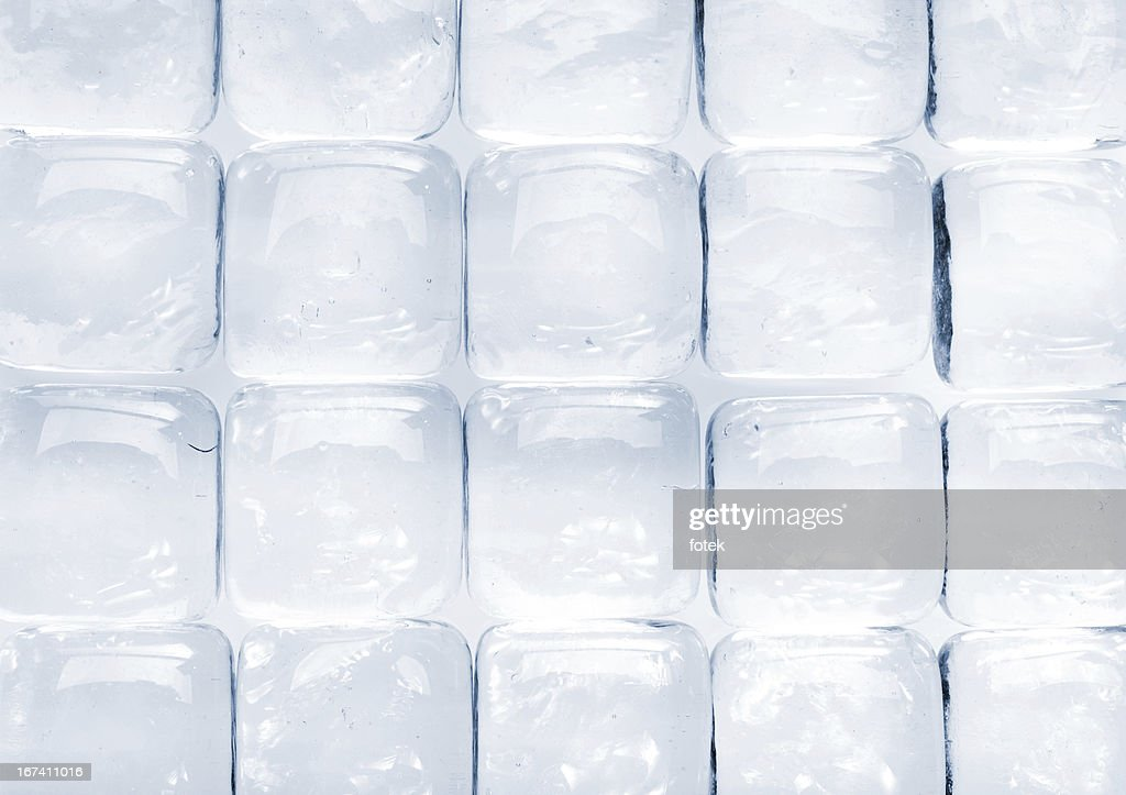 Glass dice background : Stock Photo
