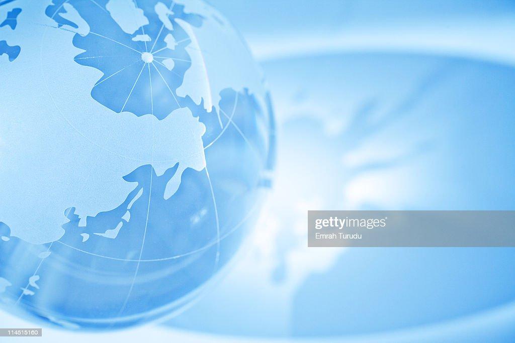 Glass globe : Stock Photo