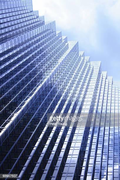 Glass high rise