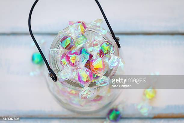 Glass Jar full of Candy