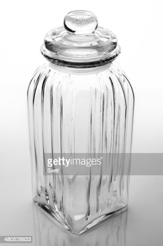 Glass jar : Stock Photo