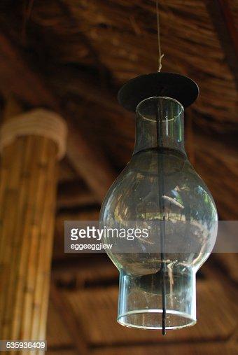 Glass Lamp. : Stock Photo