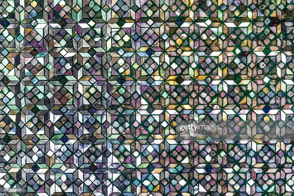 Glass Mosaic Tile Pattern Texture Stock Photo | Getty Images