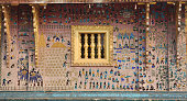Glass Mosaics in the Wat Xieng Thong Luang Prabang Laos 1950s Found in the collection of Wat Xieng Thong Artist Anonymous master