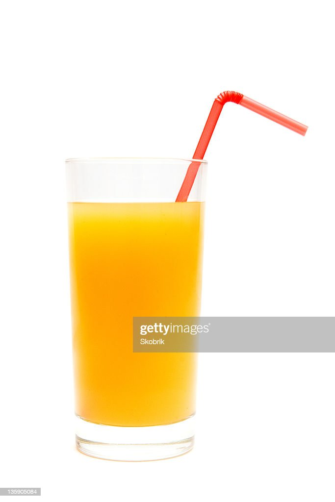 Glass of citrus juice : Stock Photo