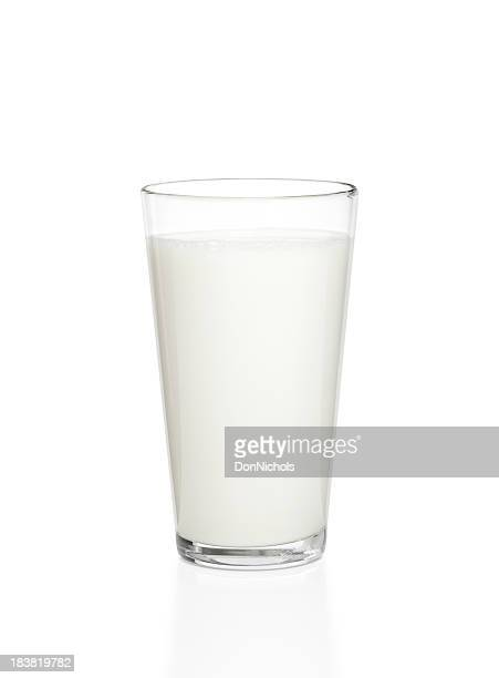 Glass of Milk Isolated