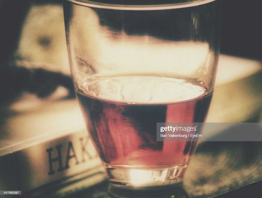 Glass Of Sherry By Book