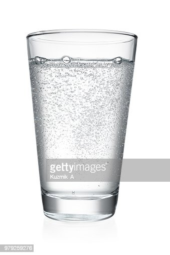 Glass of water isolated : Foto de stock