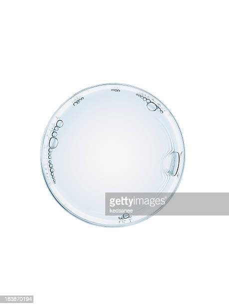 Vaso de agua Aislado en blanco