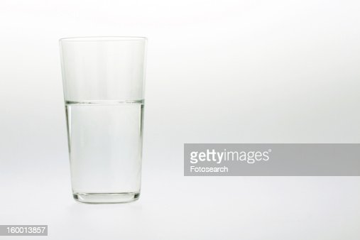 Glass of water, : Stock Photo