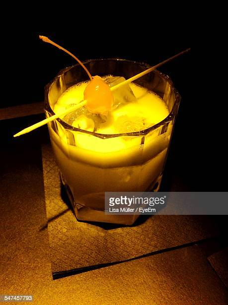Glass Of Whiskey Sour