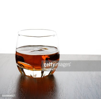 glass of whisky : Stock Photo