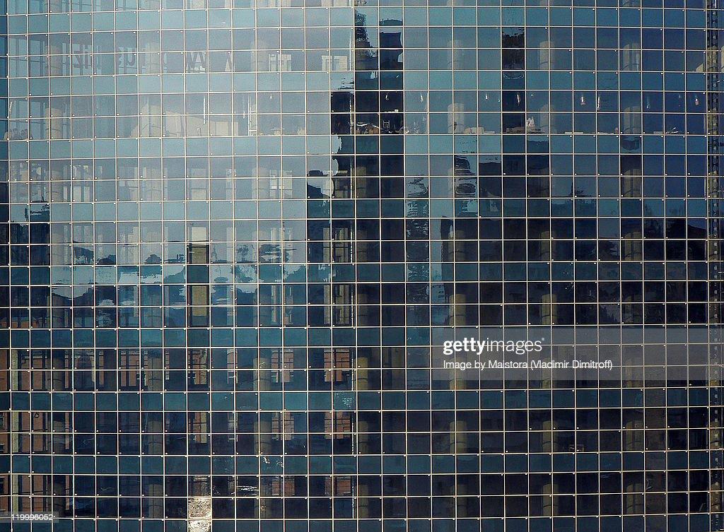 Glass wall : Stock Photo