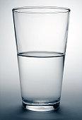 glass water half full