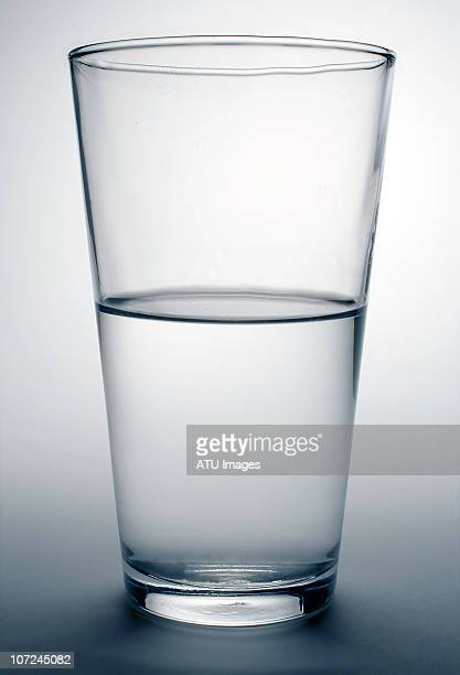 glass water half full