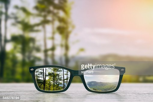 Glasses concepts. : Stock Photo