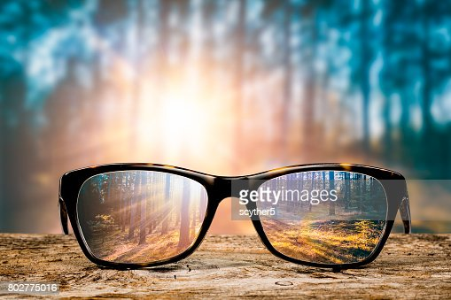 Glasses concepts. : Stock Photo