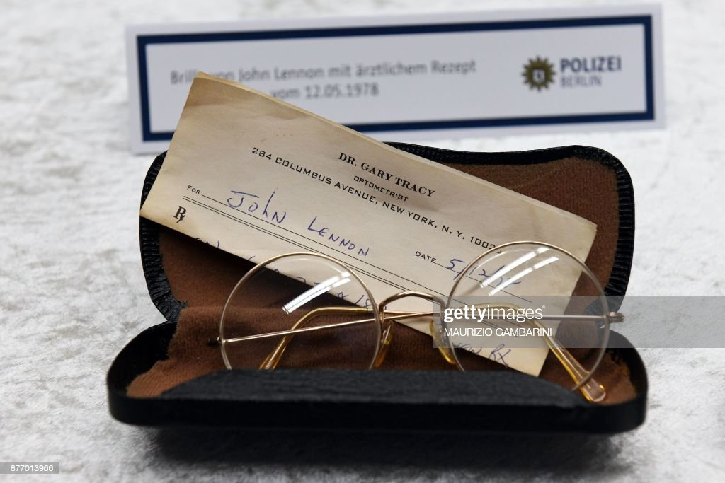 Items stolen from John Lennon's widow Yoko Ono recovered in Germany