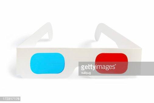 3D glasses - front view
