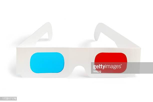 3 D Brille-Vorderansicht