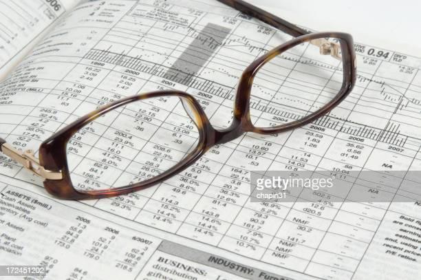Brille auf einen Stock-Angebot