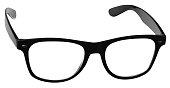 Horn Rimmed Glasses - Isolated