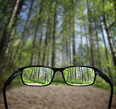 Glasses - great for topics like eyesight problems, vision etc.