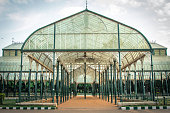 Glasshouse at Lalbagh Gardens, Bangalore, India