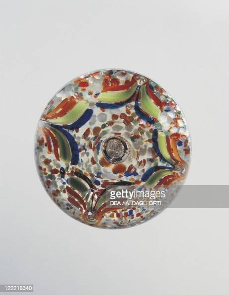 Glassware 20th century Paperweight
