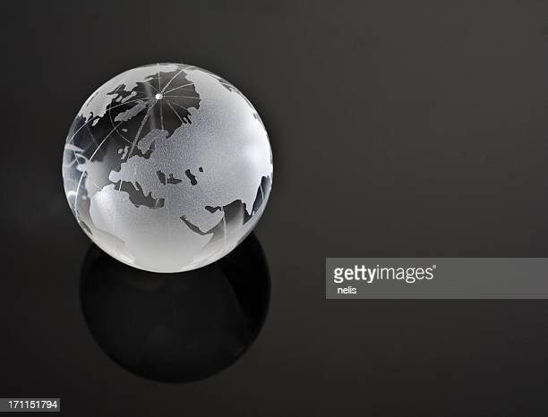 glassy globe