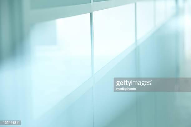 Glassy wall