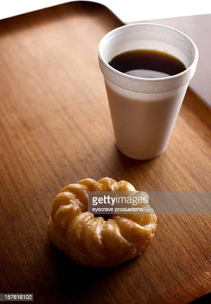 Glaçage sur le plateau café-Français