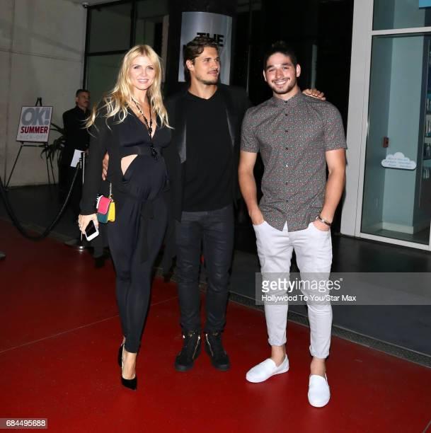 Gleb Savchenko Elena Samodanova and Alan Bersten are seen on May 17 2017 in Los Angeles CA