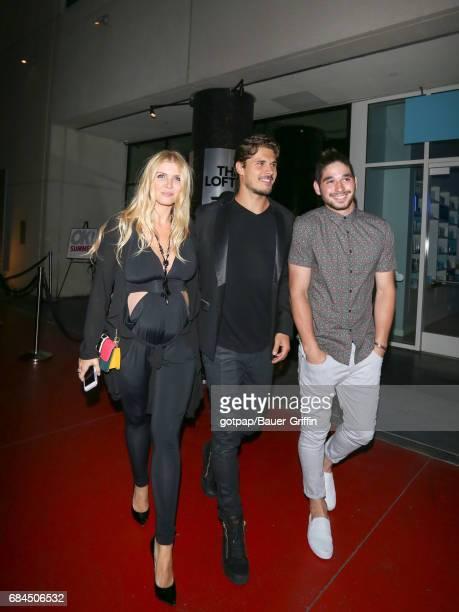 Gleb Savchenko Elena Samodanova and Alan Bersten are seen on May 17 2017 in Los Angeles California